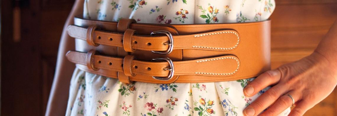 ceinture taille femme cuir